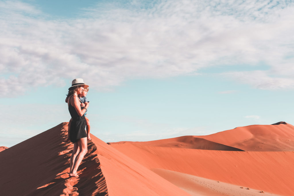 Hiking Sossusvlei Dunes