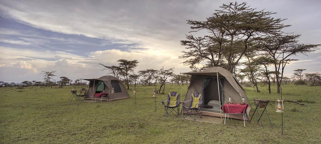 Glamping in Masai Mara, Kenya